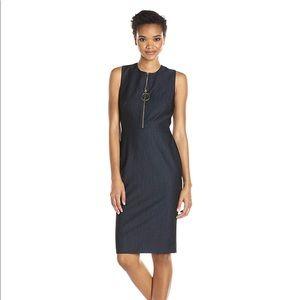 Calvin Klein Denim Shift Dress